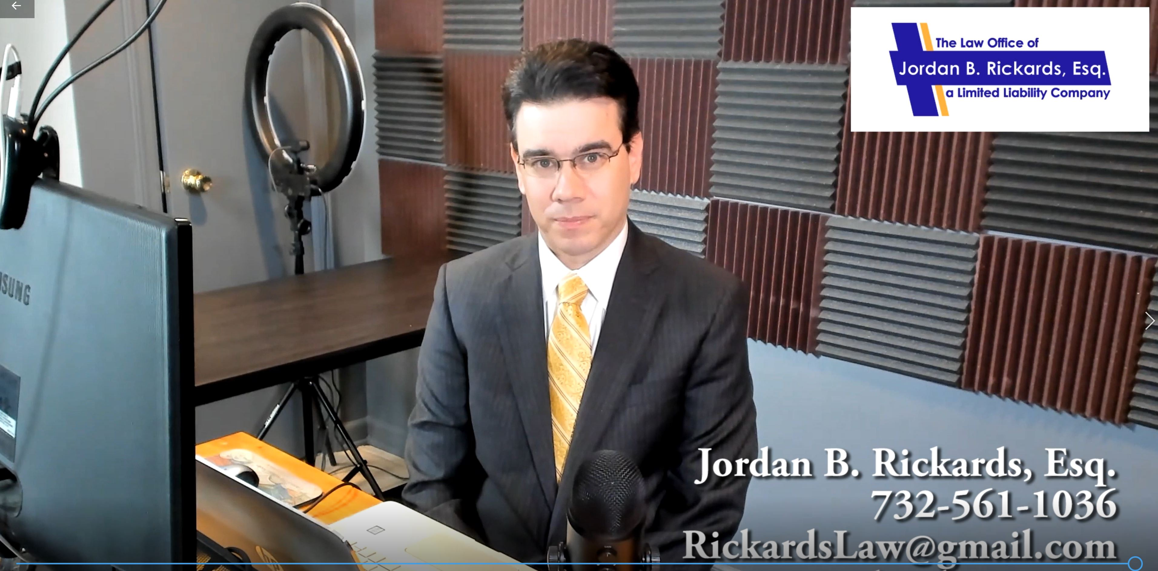In this video, New Jersey divorce lawyer Jordan Rickards provides an overview of the divorce process in New Jersey.
